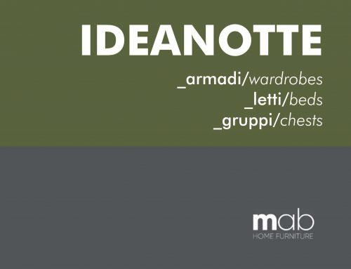 """MAB – Nuovo catalogo """"idea notte"""""""