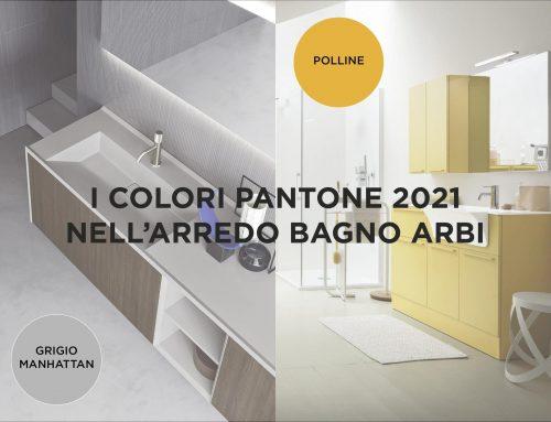 I colori Pantone nell'arredo bagno Arbi!