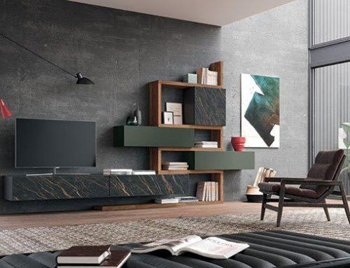 MOBILGAM Suggestive soluzioni per la Zona Living